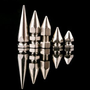 NO0826 Hex Spikes Long Metal Spikes 8x26mm