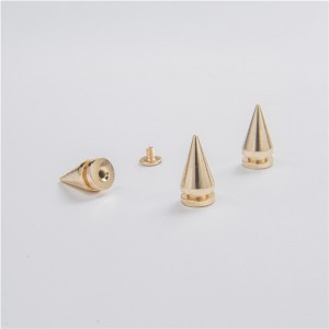 no82-h014 gold spikes for clothing