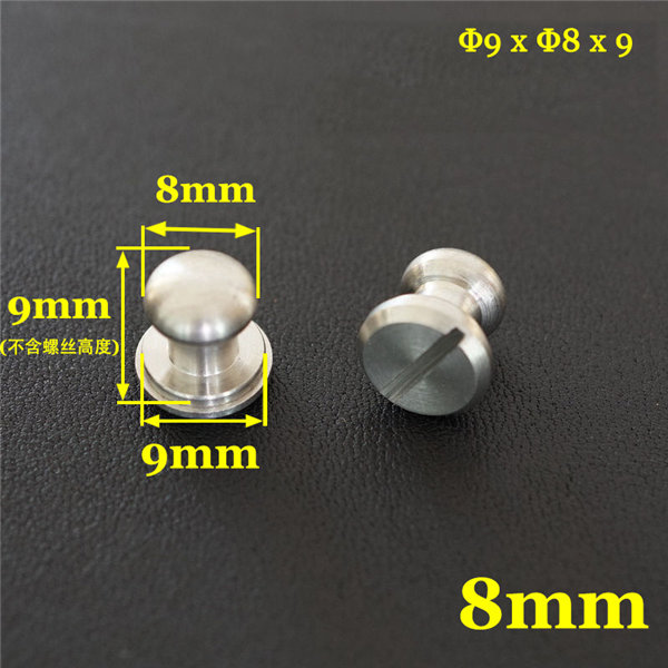 stainless steel monk head screws 2
